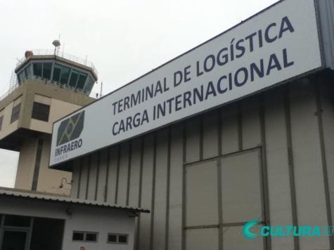 MOVIMENTAÇÃO DE CARGAS CRESCE NO AEROPORTO DE CUIABÁ