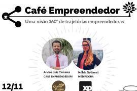 CAFÉ EMPREENDEDOR NO PÁTIO RAIZ